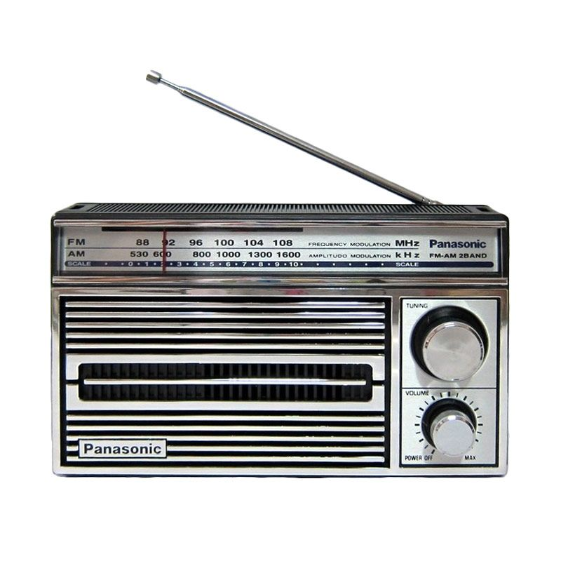 Panasonic Rf-5250 Silver Radio [AM/FM]