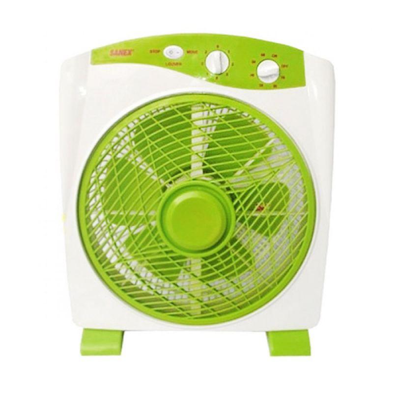 Sanex SB 818 Green Kipas Angin [12 Inch]