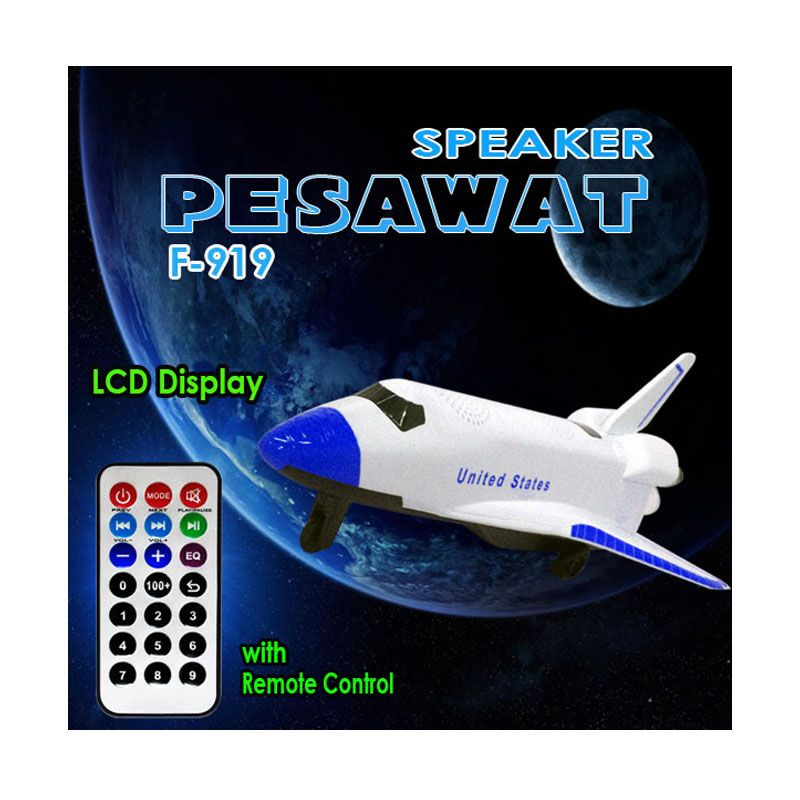 Jaws ACCHP Pesawat F919 Biru Speaker