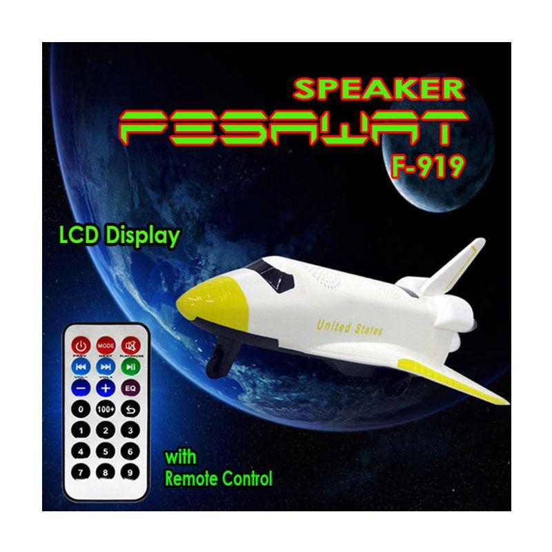 Jaws ACCHP Pesawat F919 Kuning Speaker