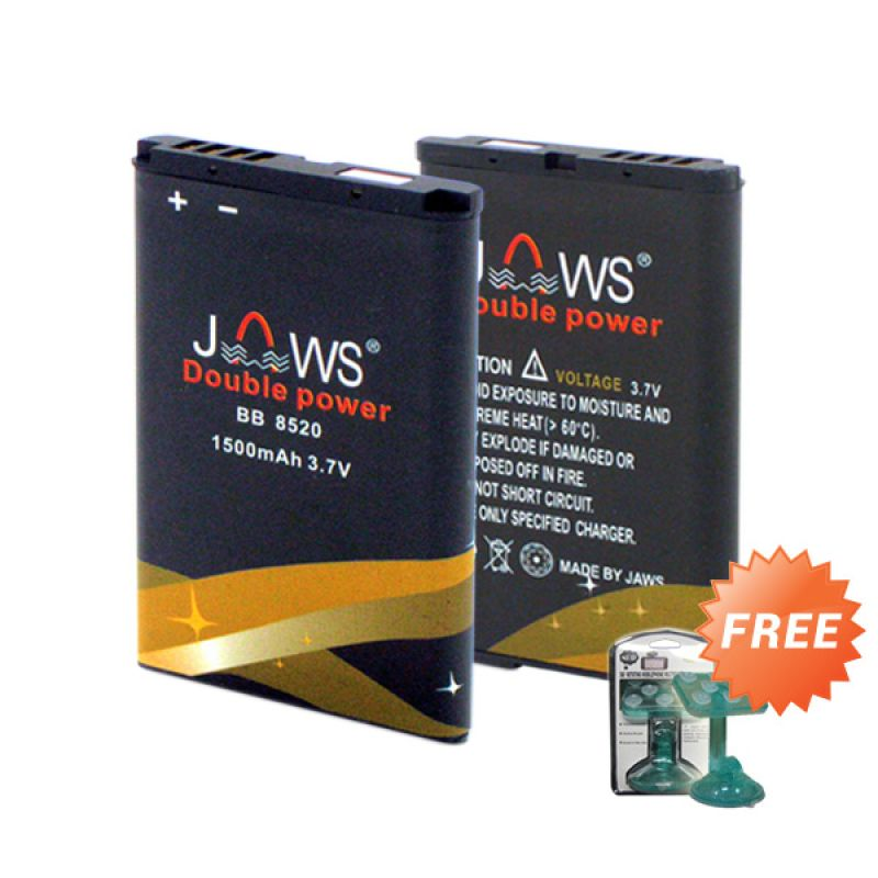 Jaws Double Power C-S2 Battery + Holder