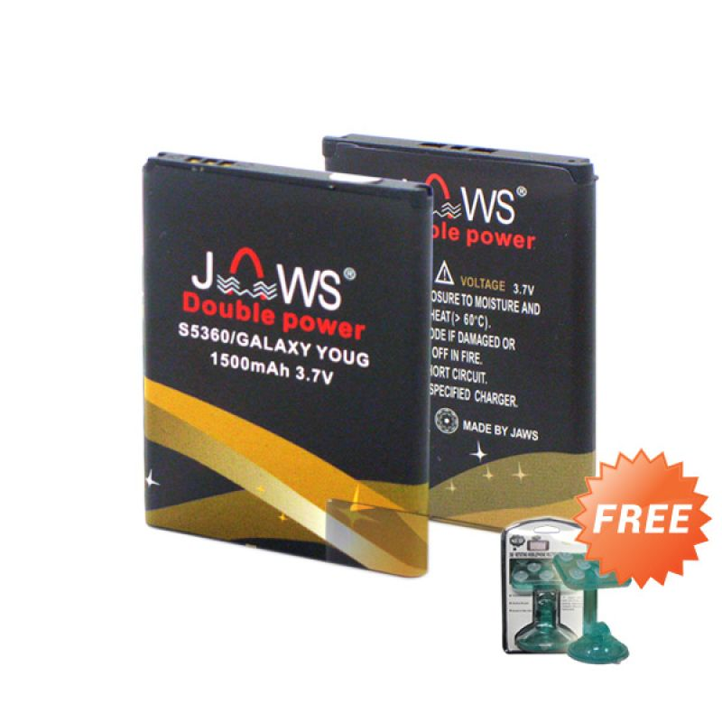 Jaws Double Power S5360 Battery + Holder
