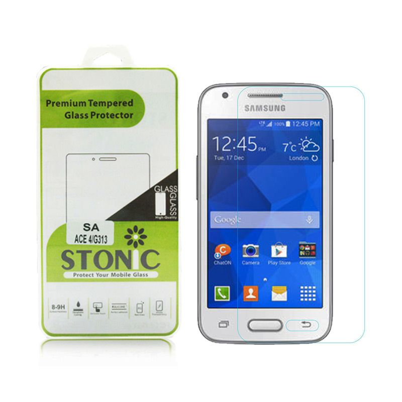 STONIC Premium Tempered Glass Screen Protector for Galaxy Ace 4