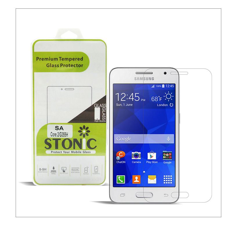 STONIC Premium Tempered Glass Screen Protector for Galaxy Core 2