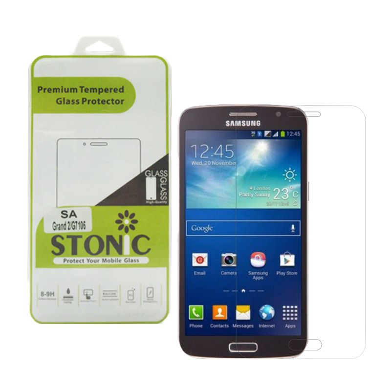 STONIC Premium Tempered Glass Screen Protector for Galaxy Grand 2