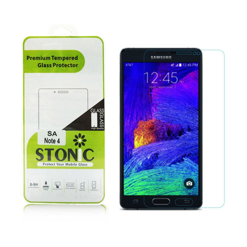 STONIC Premium Tempered Glass Screen Protector for Galaxy Note 4