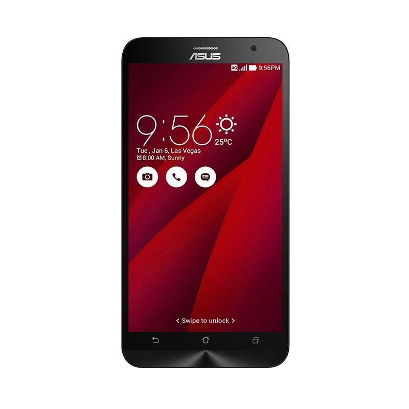Asus Zenfone 2 ZE550ML Merah Smartphone [2 GB/16 GB]