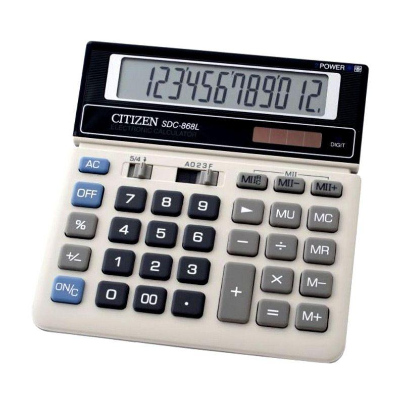 Citizen SDC868L Kalkulator