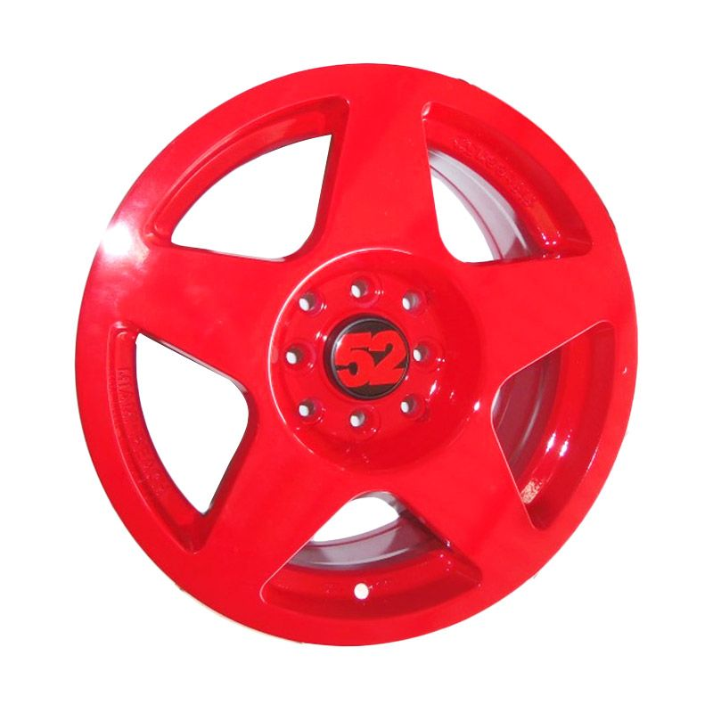 Fifteen52 Replika Red Velg Mobil [15 Inch/4 Pcs/Gratis Pemasangan]