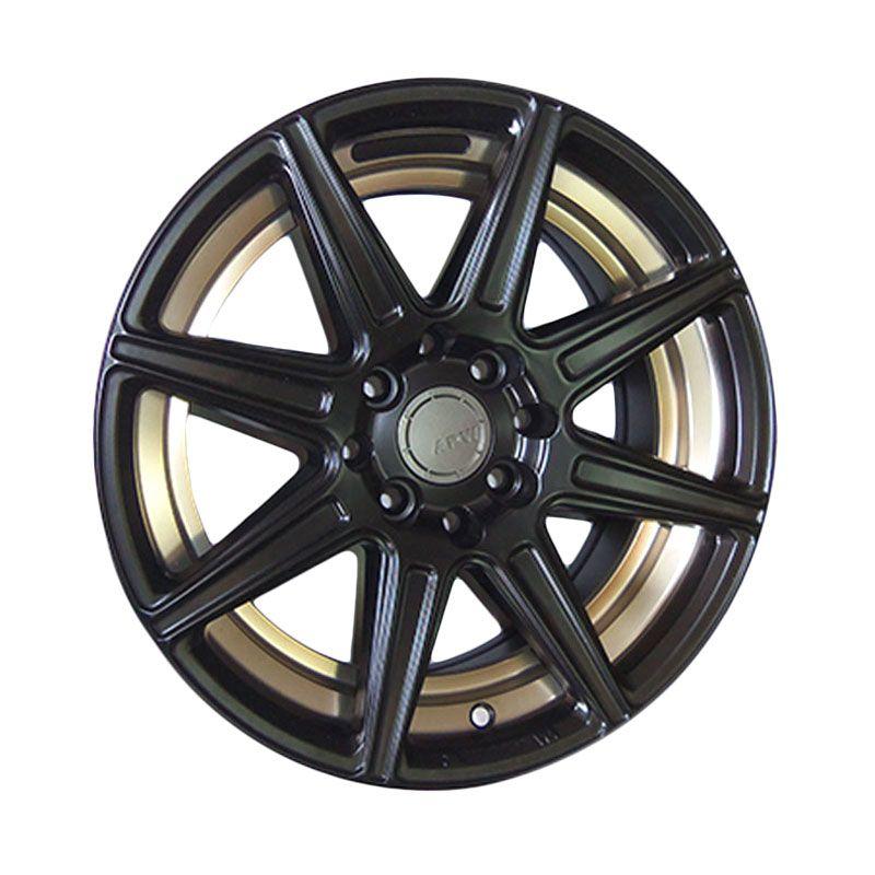 Replika HRE TR1 Black Velg Mobil [15 Inch/4 Pcs/Gratis Pemasangan]