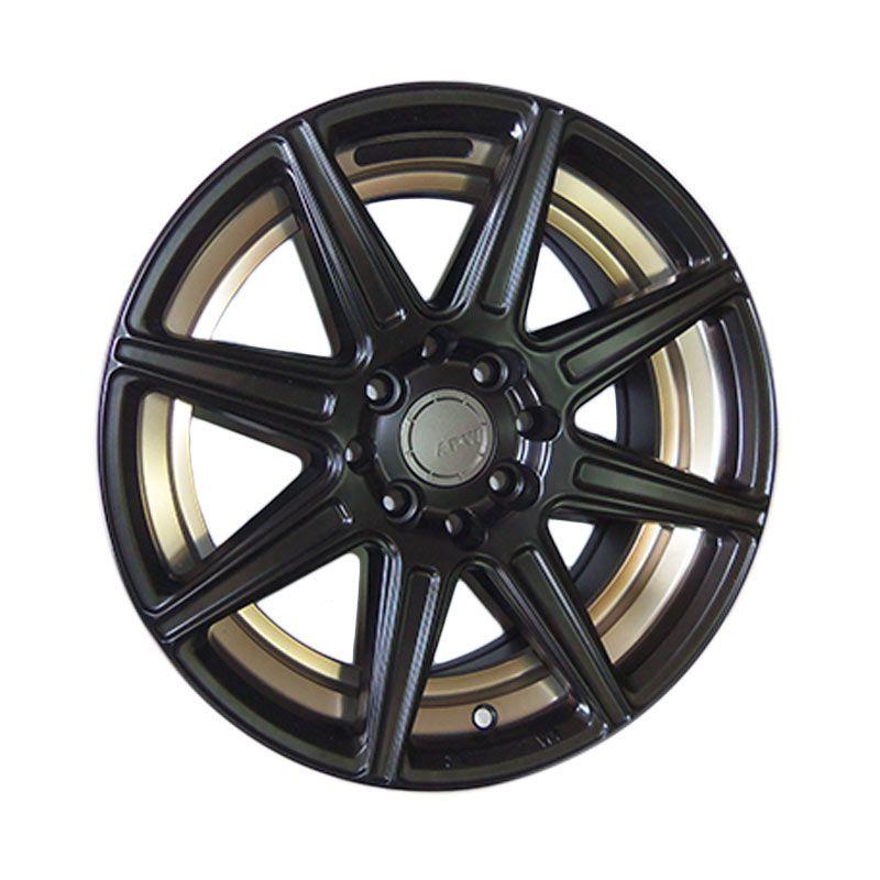 Replika HRE TR1 Black Velg Mobil [15 Inch]