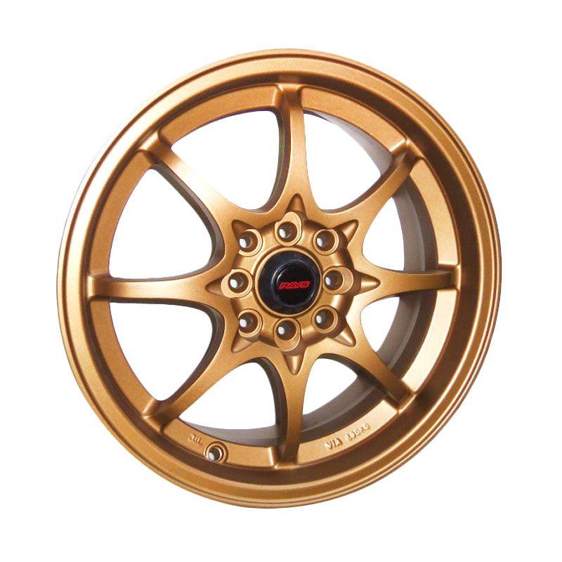 Volkrays CE28 Replika Bronze Velg Mobil [16 Inch/4 Pcs/Gratis Pemasangan]