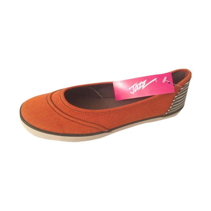 Jazz Star Orange Sepatu Casual Wanita