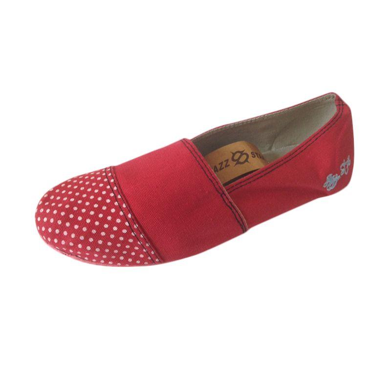 Jazz Star Red Sepatu Sneakers Wanita