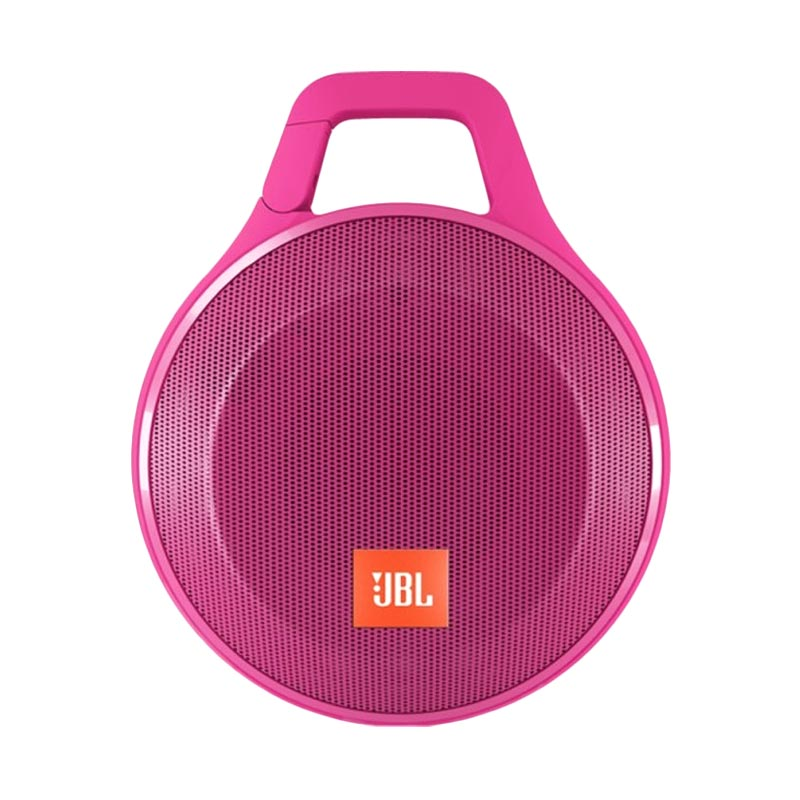 jual aeon jbl clip portable player speaker pink online harga kualitas terjamin. Black Bedroom Furniture Sets. Home Design Ideas