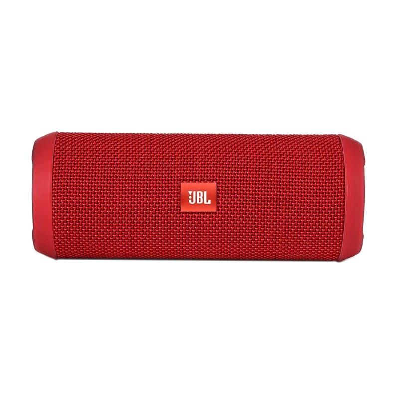 harga JBL Flip 3 Portable Bluetooth Speaker Splashproof - Red Merah Garansi Resmi IMS Indonesia 1 Tahun Blibli.com