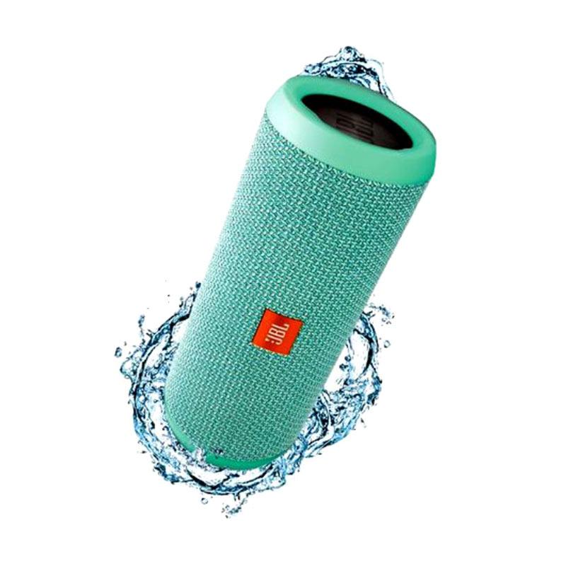 harga JBL Flip 3 Splashproof Bluetooth Speaker - Teal Blibli.com