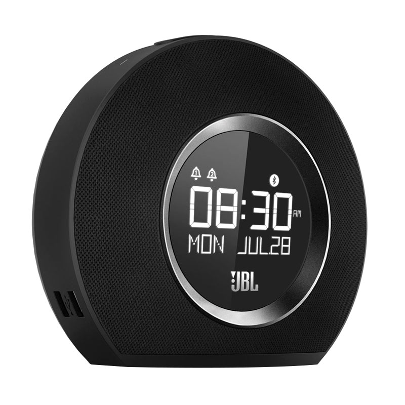 harga JBL Horizon Bluetooth Clock Radio with USB charging - Black Blibli.com