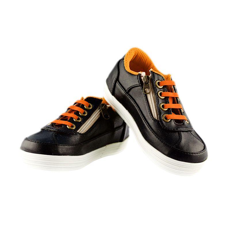 JD Kids JD Casual Black Sepatu Anak