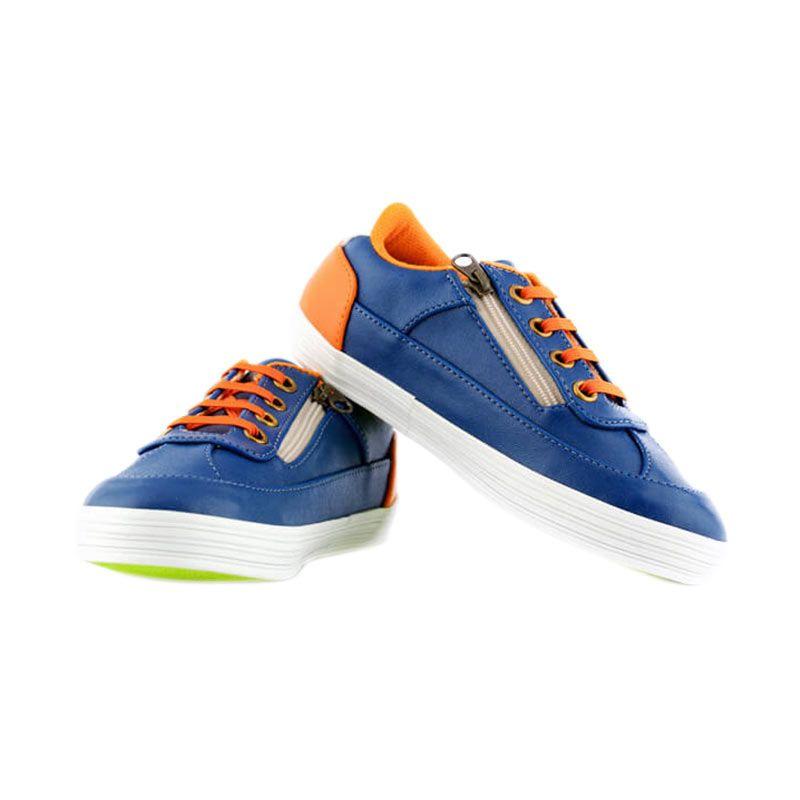 JD Kids JD Casual Blue Sepatu Anak