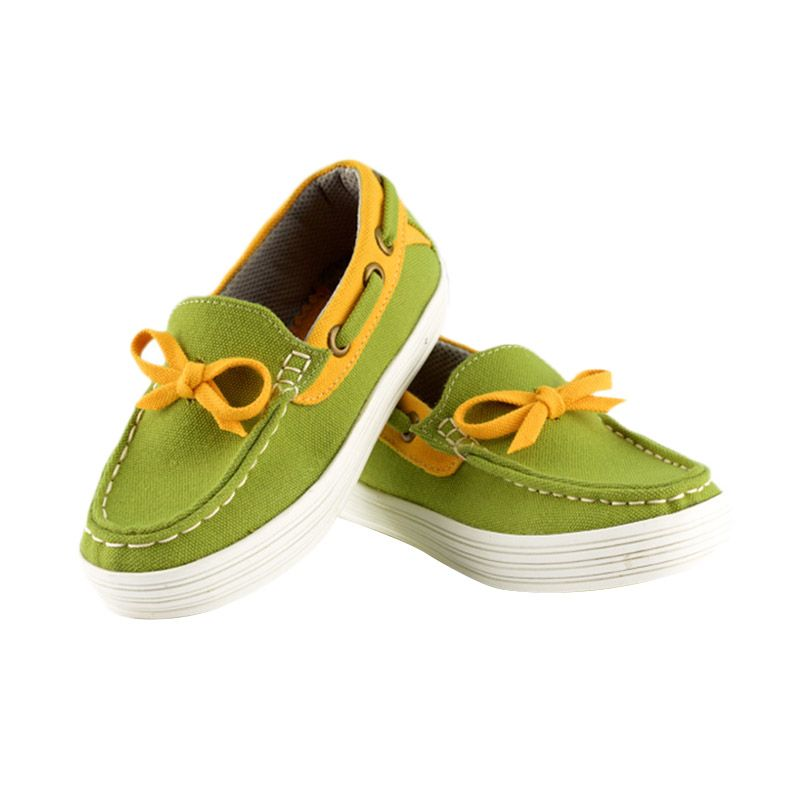harga JD Kids JD Moccassine Green Sepatu Anak Blibli.com