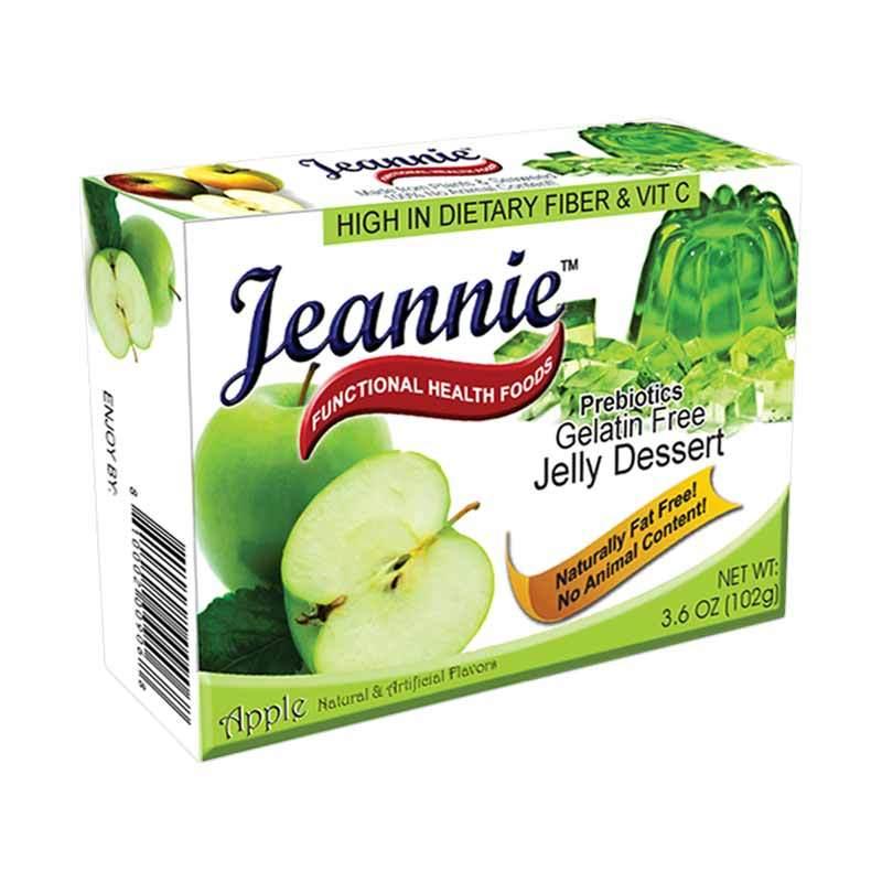 Jeannie Prebiotics Jelly Dessert Apple
