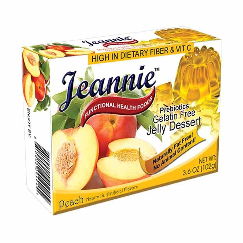 Jeannie Prebiotics Jelly Dessert Peach