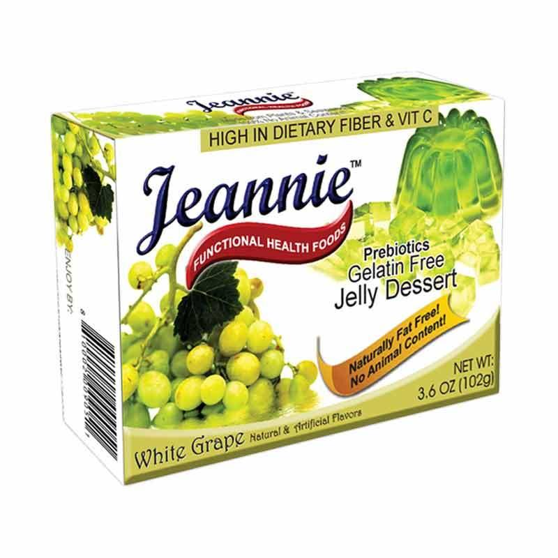 Jeannie Prebiotics Jelly Dessert White Grape