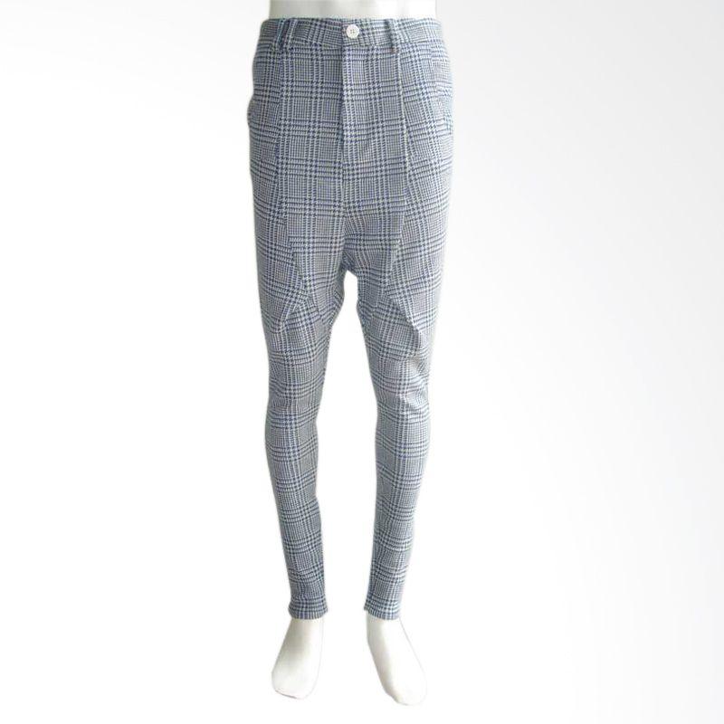 Jeffry Tan Man Pervert Pants Blue