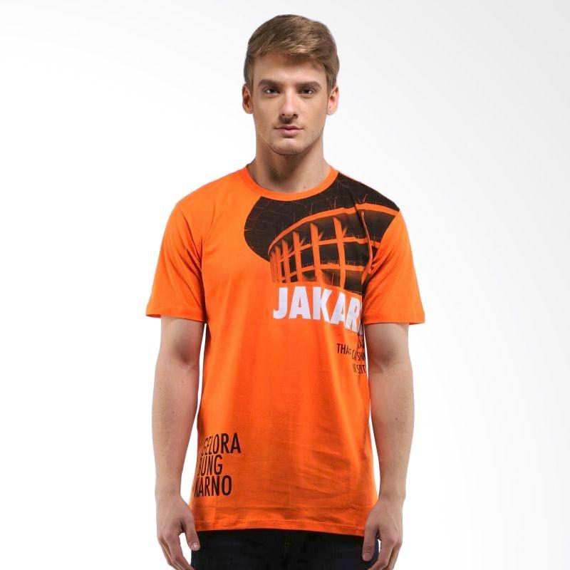 Jepege Gelora Bung Karno Orange Kaos Pria