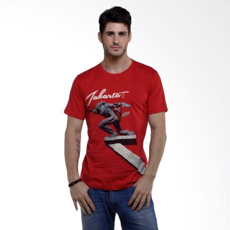 Jepege Pancoran Red Kaos Pria