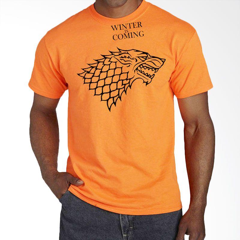 JersiClothing Game of Thrones Velvet Flock Print Orange Kaos Pria Extra diskon 7% setiap hari Extra diskon 5% setiap hari Citibank – lebih hemat 10%