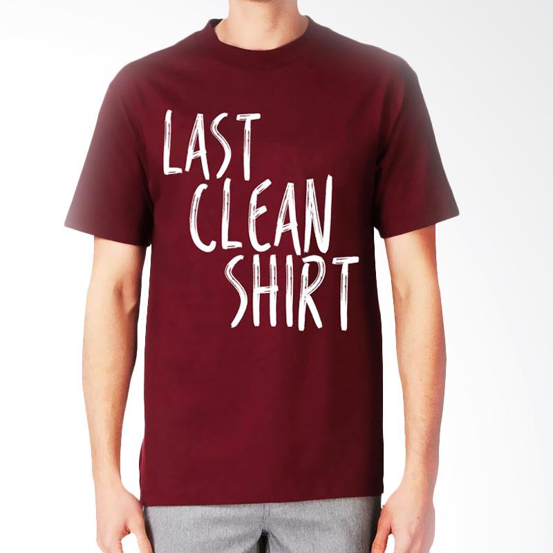 JersiClothing Last Clean Shirt Velvet Flock Print Maroon Kaos Pria Extra diskon 7% setiap hari Extra diskon 5% setiap hari Citibank – lebih hemat 10%