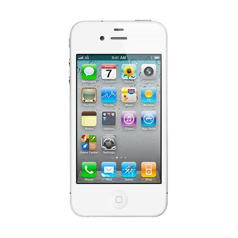Apple iphone 5 32 GB Putih Smartphone [Refurbished Garansi Distributor]