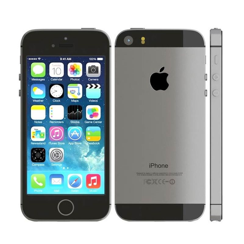Diskon Apple iPhone 5S 32 GB Grey Smartphone [Distributor Certified Refurbish]