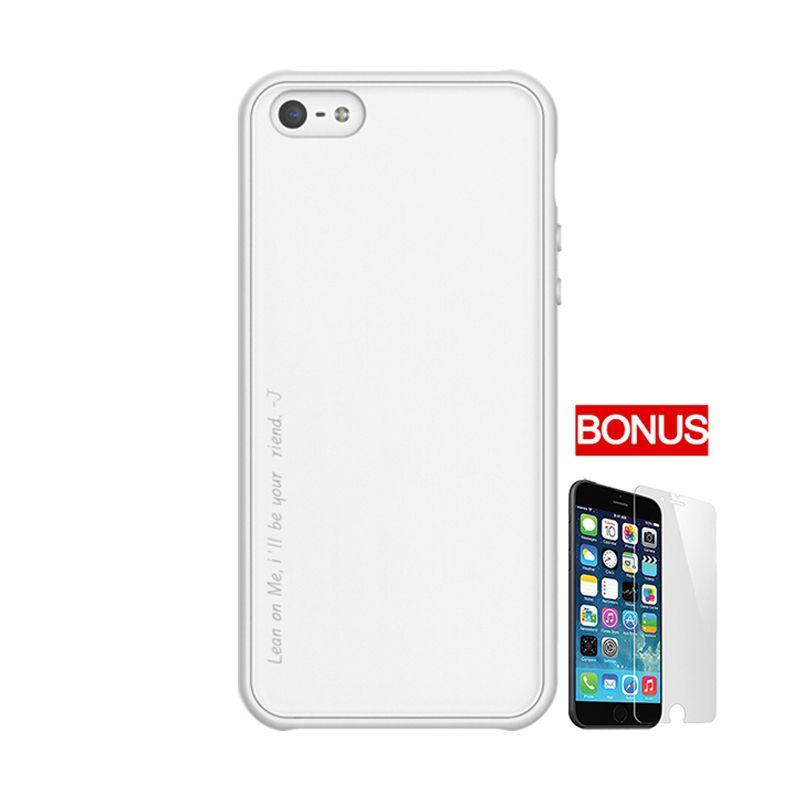 ARAREE Amy White Casing For iPhone 5 or 5S + Bonus