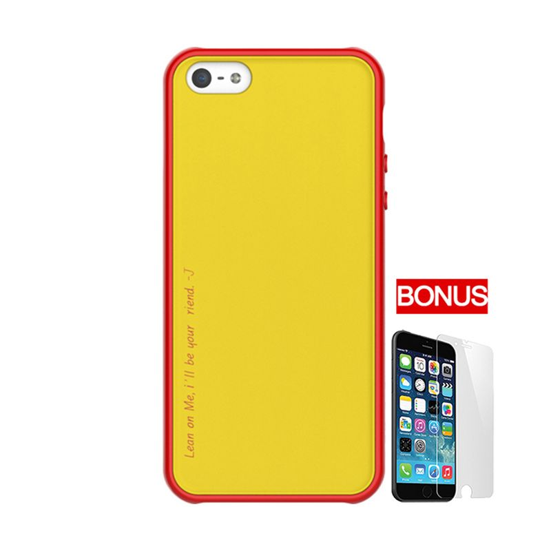 ARAREE Amy Yellow Red Casing For iPhone 5 or 5S