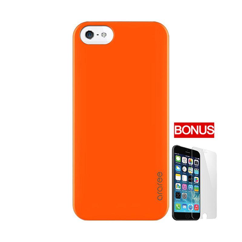 ARAREE Half Orange Casing For iPhone 5 Or 5S