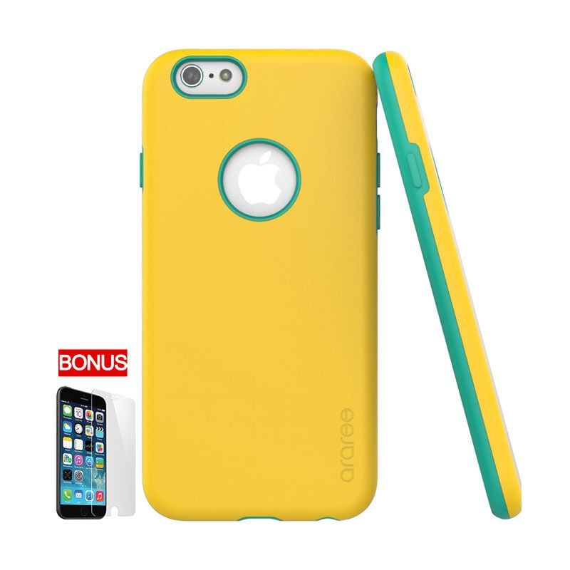 ARAREE iPhone 6 Amy Bumper Case Yellow Green (Lemon Zest)