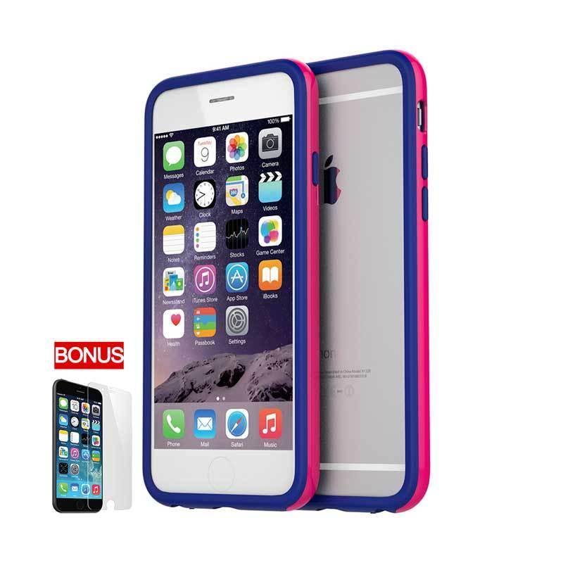 Araree iPhone 6 Hue Bumper Case Pink Blue (Pinky Jean)