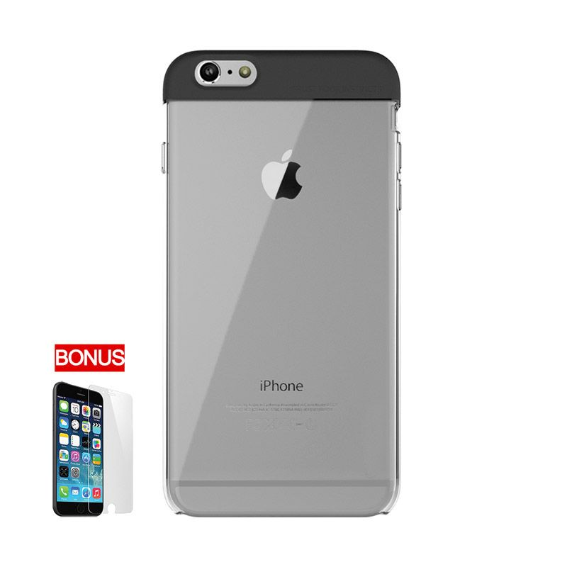 ARAREE iPhone 6 Plus POPS HQ Transparent Case Hitam