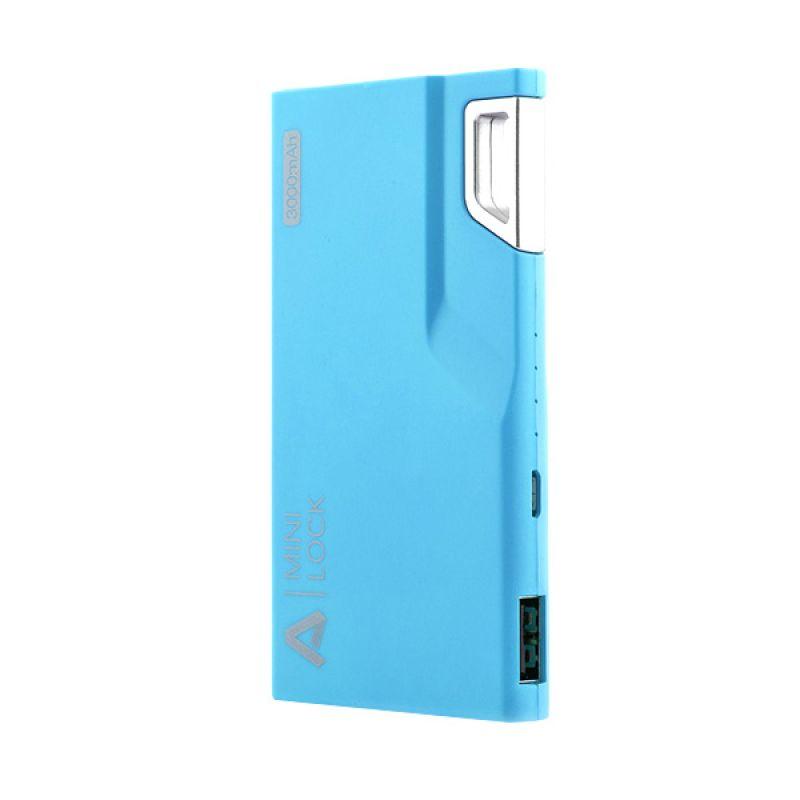 AUKEY Mini Lock Blue Powerbank [3000 mAh]