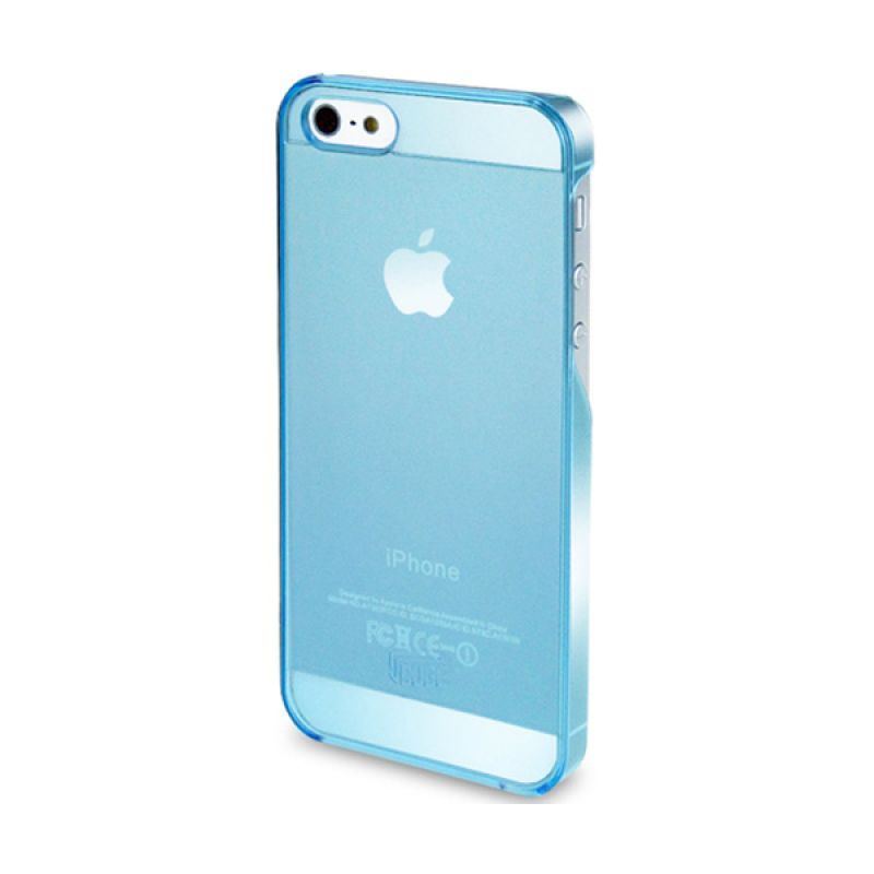 Intuitive Cube iPhone 5S S-Protector Transparent Case Blue