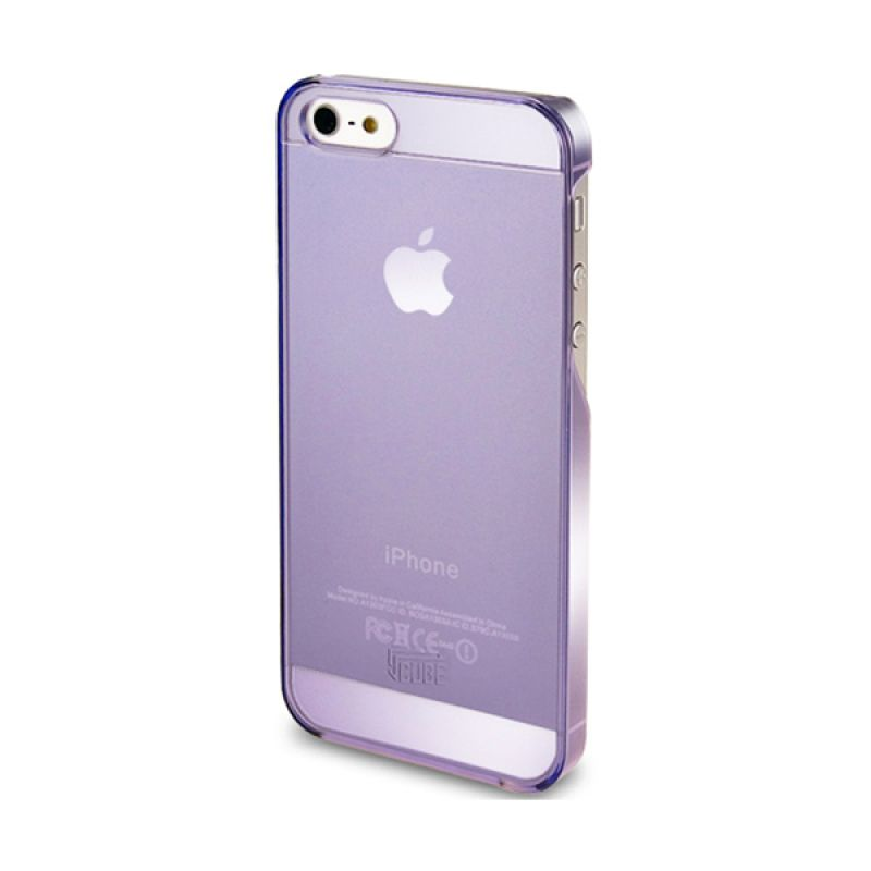 Intuitive Cube iPhone 5S S-Protector Transparent Case Purple