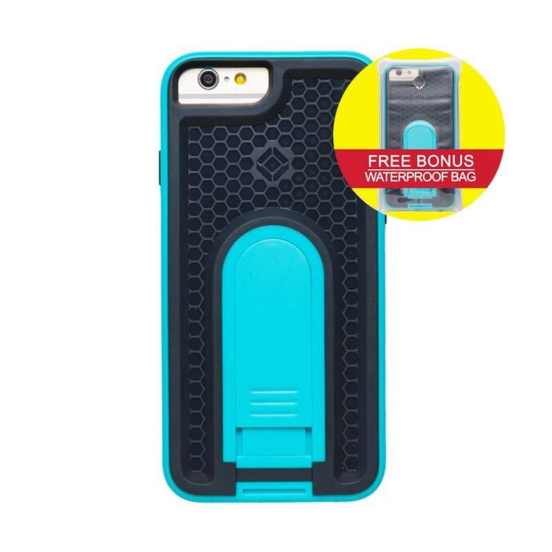 INTUITIVE CUBE iPhone6 X-Guard ANTI SHOCK Case Biru