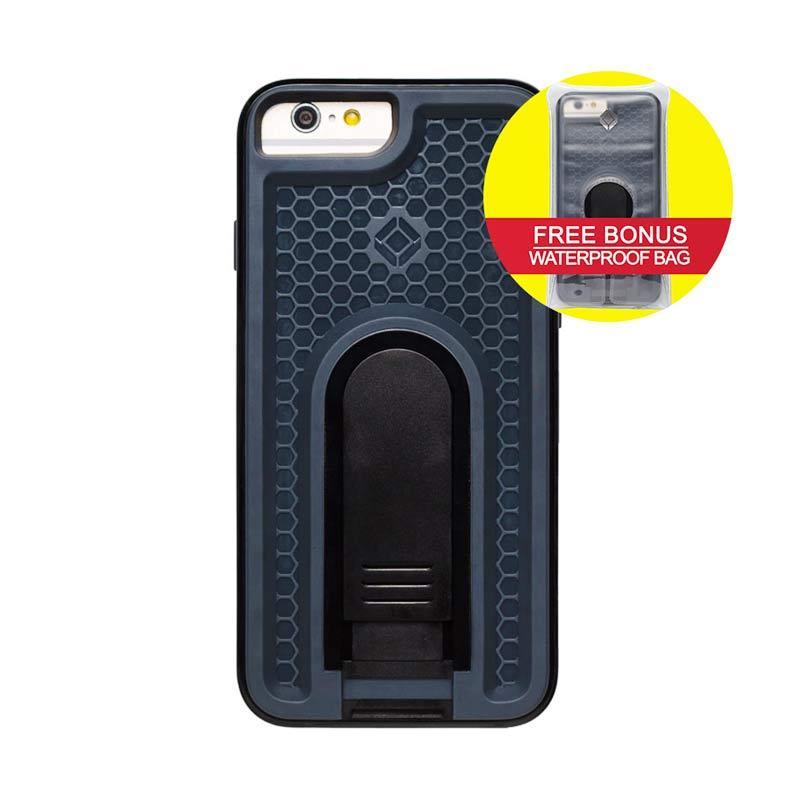 INTUITIVE CUBE iPhone6 X-Guard ANTI SHOCK Case Hitam