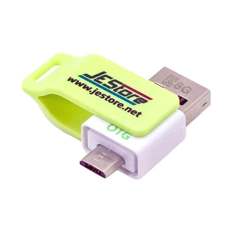 JESTORE USB OTG Flashdisk Milk 8GB Keystrap Lime