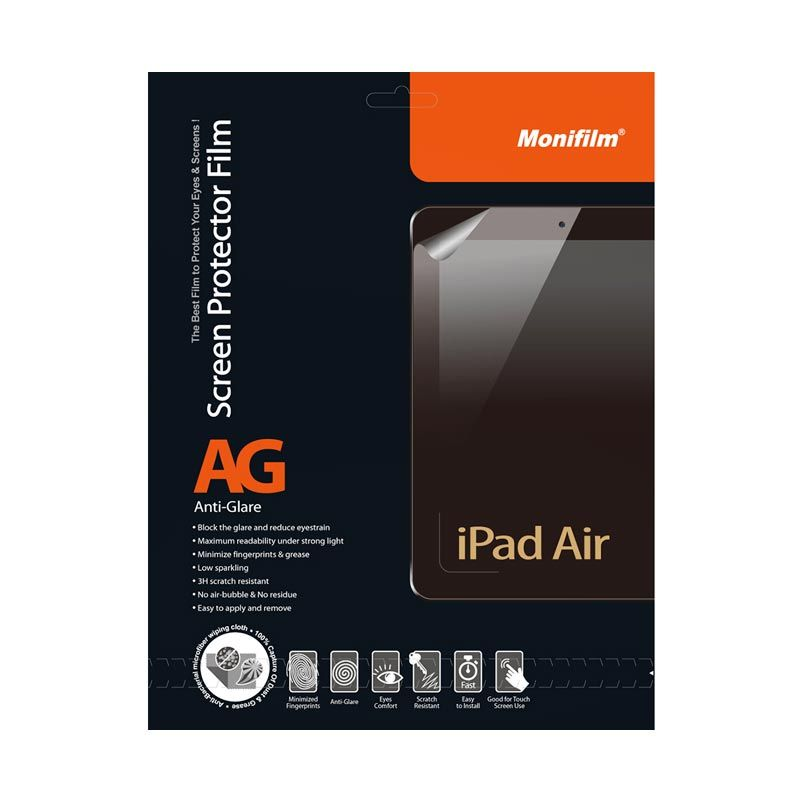 Monifilm iPad Air Anti Glare Screen Protector Film