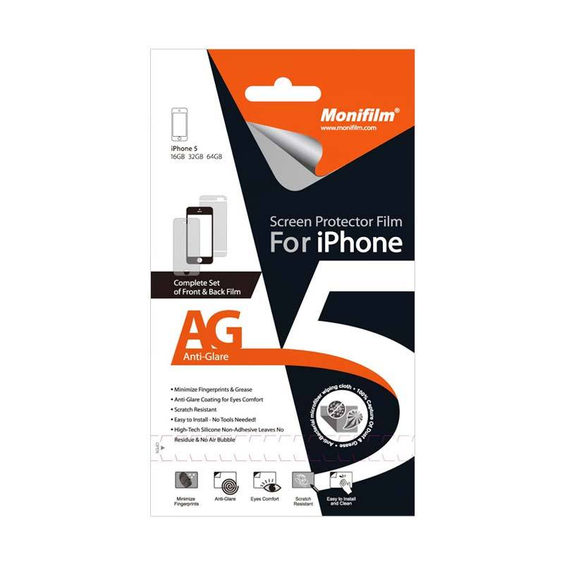 Monifilm iPhone 5SC (AG) Anti Glare Front & Back Film