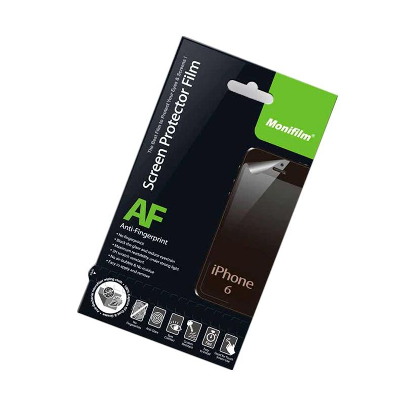 Monifilm iPhone 6 Anti Fingerprint Screen Protector Film